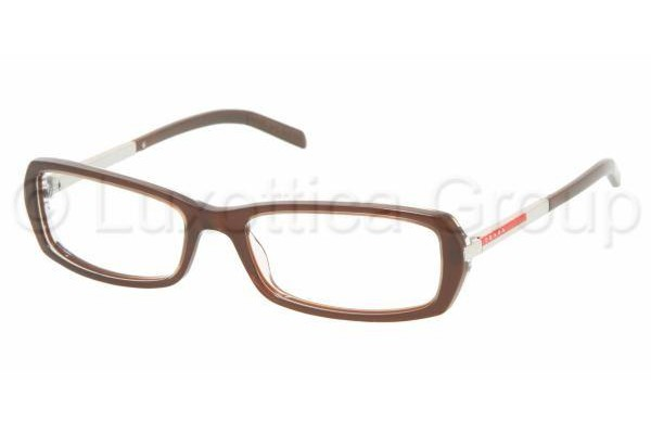 Prada Suport PS 03AV ZX01O1 MORISH/TRANSPARENT MORIS