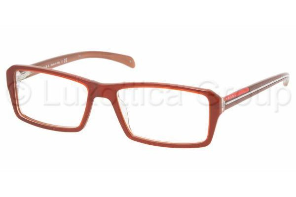Prada Suport PS 04AV ZX31O1 BROWN/BROWN TRANSPARENT