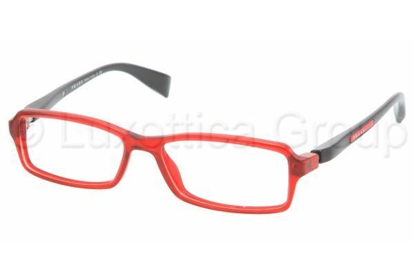 Prada Suport PS 04BV AB91O1 RED CRYSTAL