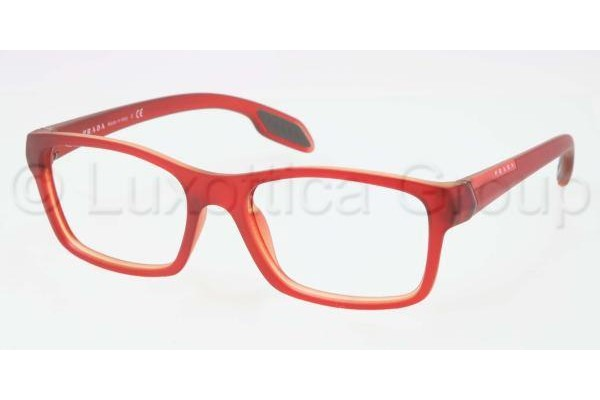 Prada Suport PS 06DV OAK1O1 TOP RED ON YELLOW