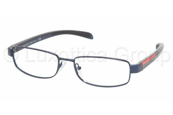 Prada Suport PS 50AV ZYI1O1 METALLIC BLUE