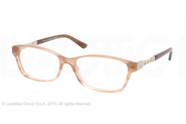 Bvlgari  0BV4061B 5252 STRIPED PEACH