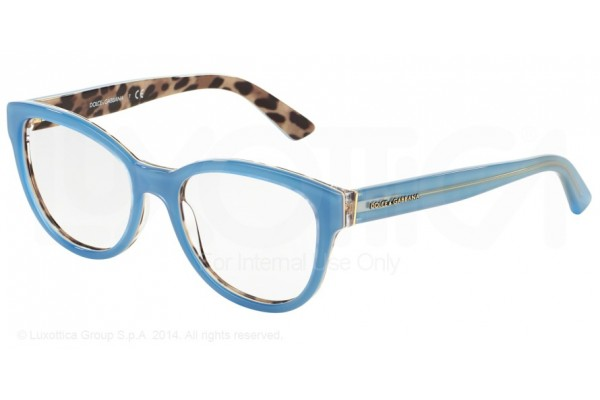 Dolce & Gabbana ENCHANTED BEAUTIES 0DG3209 2883 TOP OPAL AZURE/LEO