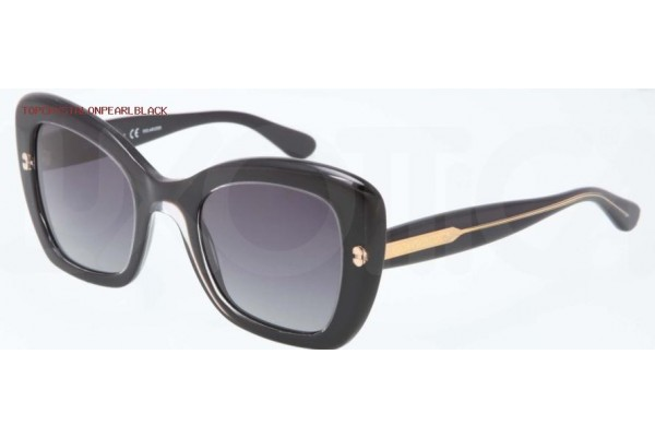 Dolce & Gabbana PEARL 0DG4205 2771T3 TOP CRYSTAL ON PEARL BLACK POLARIZED