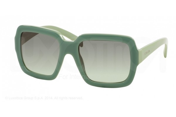 Prada  0PR 07RS TKQ4K1 OPAL DARK GREEN ON GREEN