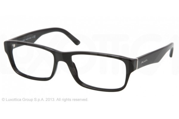 Prada  0PR 16MV 1AB1O1 GLOSS BLACK