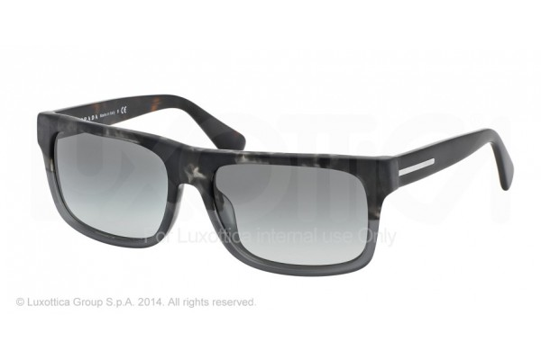 Prada  0PR 18PS RO32D0 SPOTTED BLACK/MATTE GREY