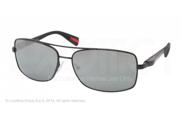 Prada Linea Rossa NETEX COLLECTION 0PS 50OS 1BO7W1 BLACK DEMI SHINY