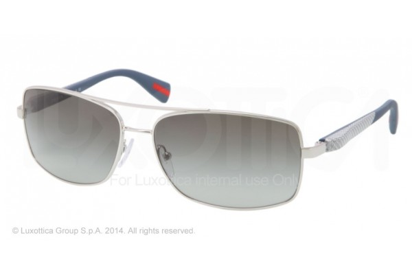 Prada Linea Rossa NETEX COLLECTION 0PS 50OS 1BC3M1 SILVER