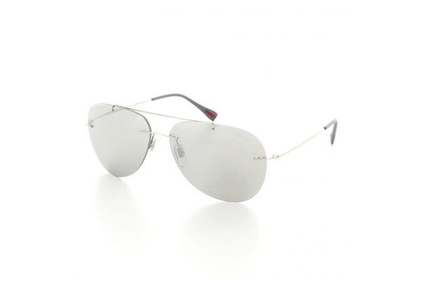 Prada Linea Rossa RED FEATHER 0PS 50PS 1BC2B0 STEEL