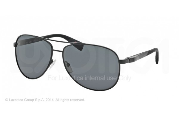 Prada Linea Rossa NETEX COLLECTION 0PS 51OS 1BO1A1 BLACK DEMI SHINY