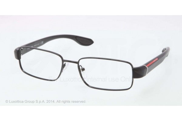 Prada Linea Rossa  0PS 52EV 1BO1O1 BLACK DEMI SHINY