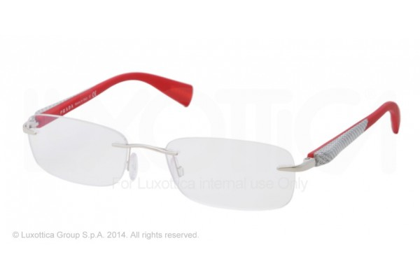 Prada Linea Rossa NETEX COLLECTION 0PS 53DV 1BC1O1 SILVER
