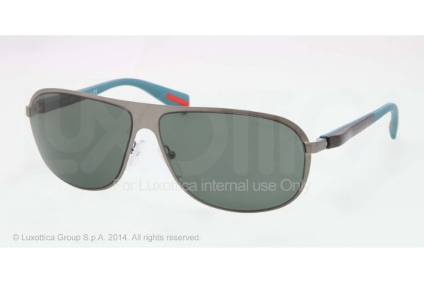 Prada Linea Rossa NETEX COLLECTION 0PS 56OS 75S3O1 BRUSHED GUNMETAL