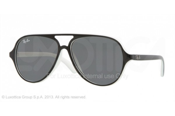 Ray-Ban Junior  0RJ9049S 153/11 TOP BLACK ON WHITE
