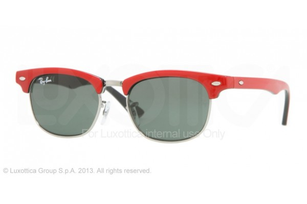 Ray-Ban Junior  0RJ9050S 162/71 TOP RED ON BLACK