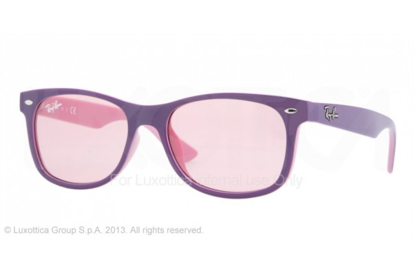 Ray-Ban Junior  0RJ9052S 179/84 TOP VIOLET ON PINK