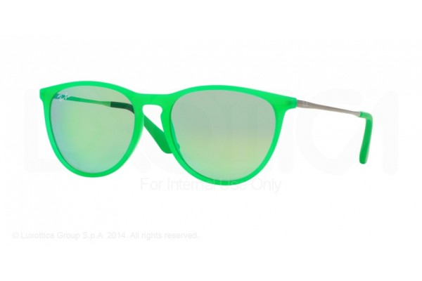 Ray-Ban Junior  0RJ9060S 70073R GREEN FLUO TRASP RUBBER