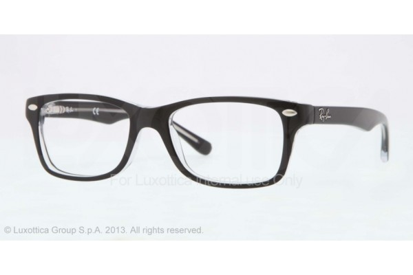 Ray-Ban Junior 0RY1531 3529 TOP BLACK ON TRANSPARENT