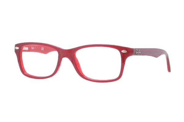 Ray-Ban Junior 0RY1531 3592 TOP RED ON OPALIN RED