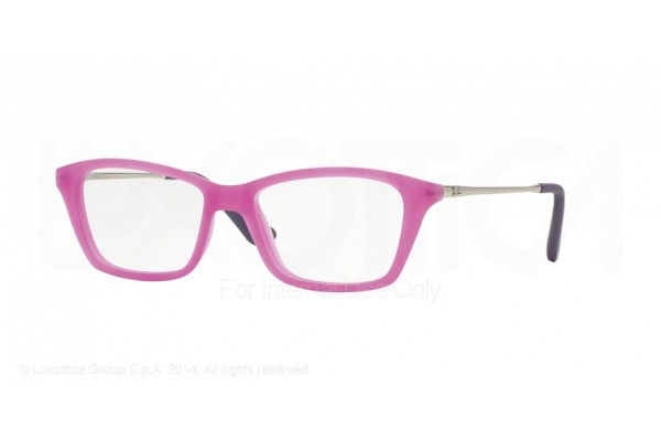 Ray-Ban Junior 0RY1540 3620 VIOLET FLUO TRASPARENT RUBBER