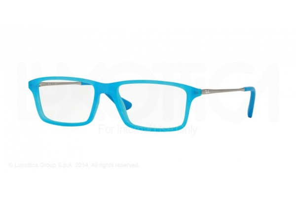 Ray-Ban Junior 0RY1541 3618 AZURE FLUO TRASPARENT RUBBER