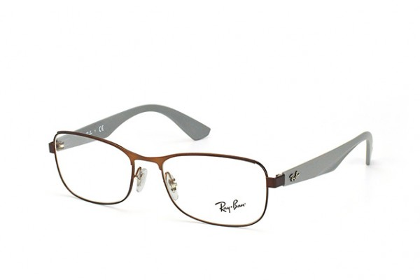 Ray-Ban 0RX6307 2823 MATTE BROWN