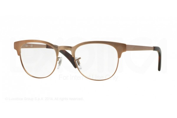 Ray-Ban 0RX6317 2836 MATTE BROWN