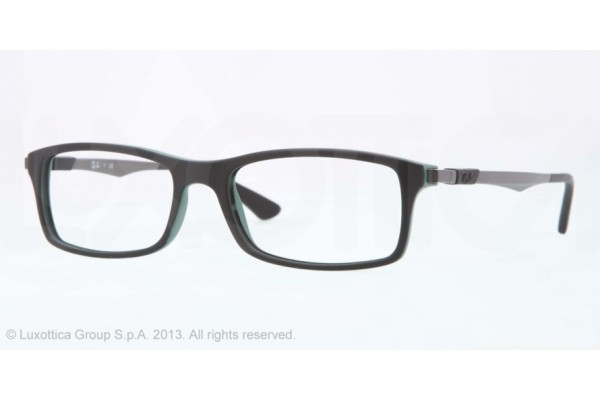 Ray-Ban 0RX7017 5197 TOP BLACK ON GREEN