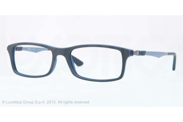 Ray-Ban 0RX7017 5199 TOP GREY ON BLUE