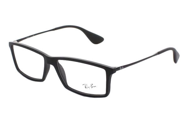Ray-Ban 0RX7021 5364 RUBBER BLACK