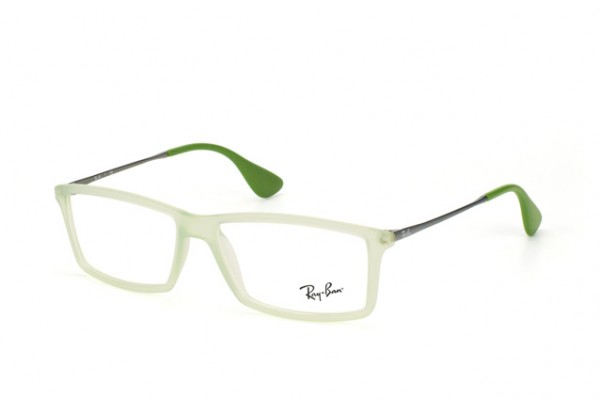 Ray-Ban 0RX7021 5366 RUBBER GREEN