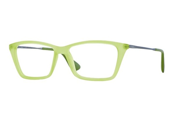 Ray-Ban 0RX7022 5366 RUBBER GREEN