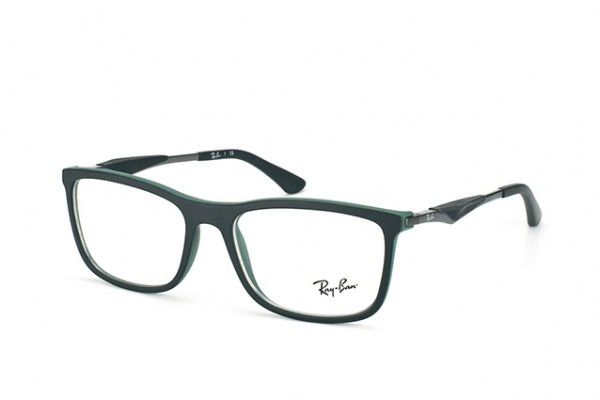 Ray-Ban 0RX7029 5197 BLACK TOP ON GREEN