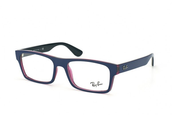 Ray-Ban 0RX7030 5398 TOP BLUE ON TRASPARENT VIOLET