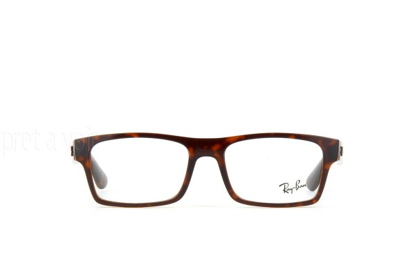 Ray-Ban 0RX7030 5396 TOP HAVANA ON MATTE BROWN