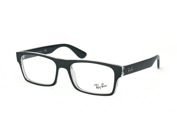 Ray-Ban 0RX7030 2034 TOP MATTE BLACK ON TRANSPARENT