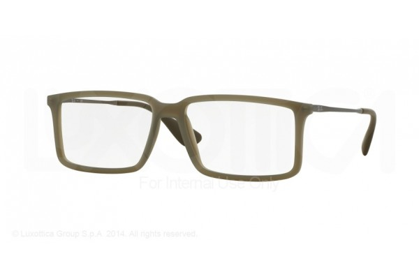Ray-Ban 0RX7043 5466 RUBBER DEMI GLOSS MILITARY
