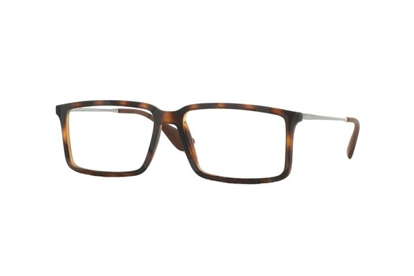 Ray-Ban 0RX7043 5365 RUBBER HAVANA