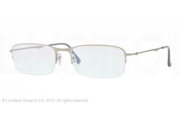 Ray-Ban 0RX8714 1156 BRUSCHED SILVER