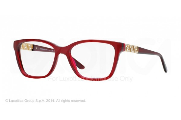 Versace  0VE3192B 388 TRANSPARENT RED