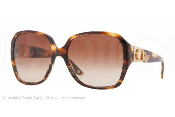 Versace  0VE4242B 502513 STRIPED HAVANA