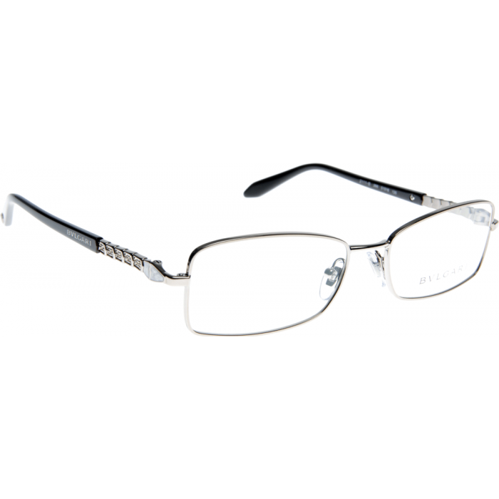 Bvlgari Sunglasses Frames Dubai : BVLGARI Glasses BV2111B Polished stainless steel frame ...