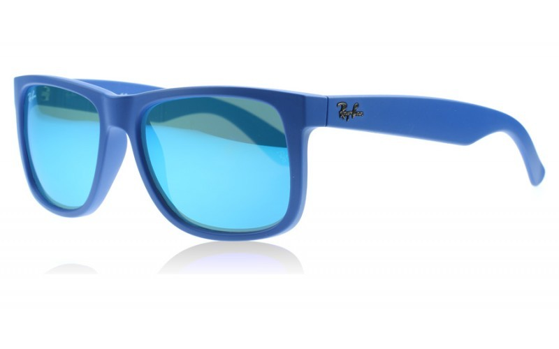 5e57d28c3f ... canada ray ban justin 0rb4165 608855 rubber blue 226a1 c6165