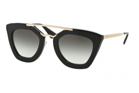 Prada CINEMA 0PR 09QS 1AB0A7 BLACK