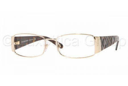Bubberry BE1064 1002 BURBERRY GOLD DEMO LENS