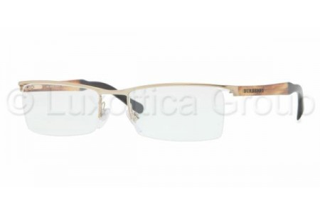 Bubberry BE1223 1145 BURBERRY GOLD DEMO LENS