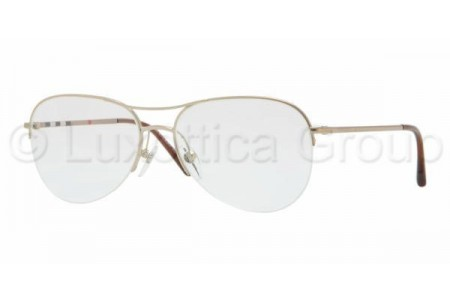 Bubberry BE1225 1145 BURBERRY GOLD DEMO LENS