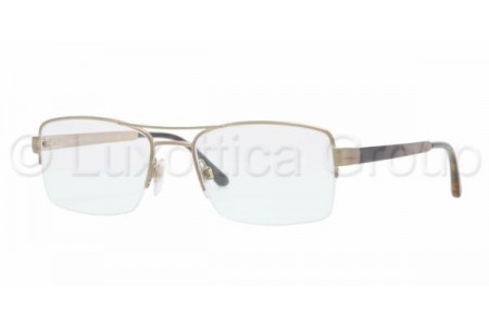 Bubberry BE1240 1167 BRUSHED BURBERRY GOLD DEMO LENS