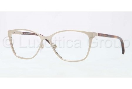 Bubberry BE1255 1167 BRUSHED BURBERRY GOLD DEMO LENS